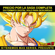 Serie Anime Dragon Ball Z Saga Completa En Hd Envio Digital