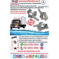 Reparación De Bomba De Agua Mercedes Benz 926 Guatemala