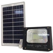 Reflectores Led Con Panel Solar. De 25wh Hasta 100w