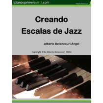 Creando Escalas De Jazz (ebook)