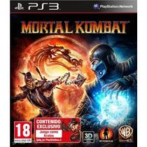 Mortal Kombat Juego Ps3 Digital Paypal Bitcoin