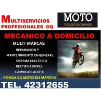 Mecánico A Domicilio De Motos Las 24 Horas