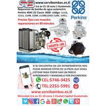 Bombas De Agua Automotrices  Perkins 404c,403d,404d Guatema