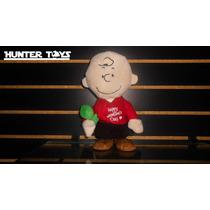 Snoopy, Charlie Brown, Peluche, Camina, Con Sonido!!!