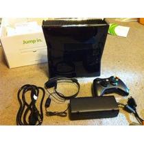 Xbox 360 Slim, Con Disco Duro De 250 Gb, Un Control Y Juegos