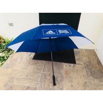 Paraguas De Agua Marca adidas Blanco Con Azul