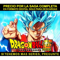 Serie Anime Dragon Ball Super Saga Completa Hd Envio Digital
