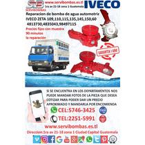 Reparacion De Bombas De Agua Iveco Zeta 109,110