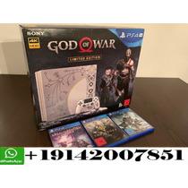 Sony Ps4 Playstation Pro 4 1tb Edición De God Of War