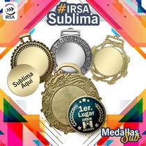 Medallas Metálicas Con Sublimación