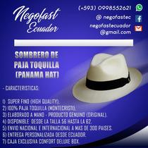 Panama Hat Sombrero De Paja Toquilla Ecuador Paypal Mundo en venta ... e3c68b494b6